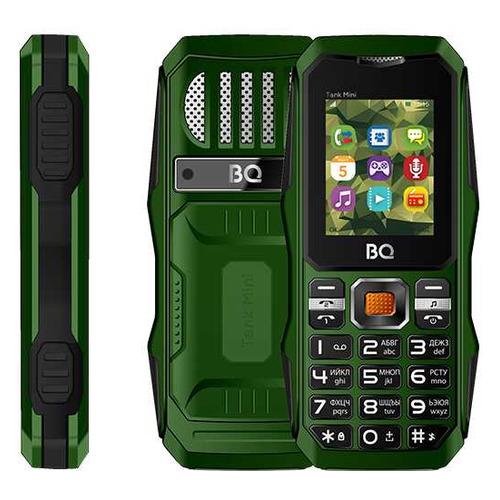Фото - Сотовый телефон BQ Tank mini 1842, темно-зеленый сотовый телефон bq 2432 tank se black