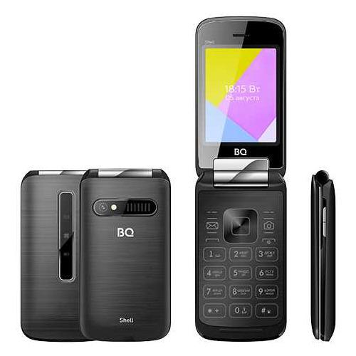 Сотовый телефон BQ Shell 2816, черный мобильный телефон bq 2816 shell gold