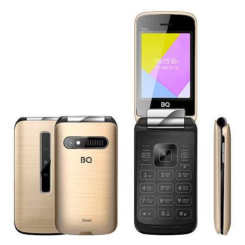 Сотовый телефон BQ Shell 2816, золотистый мобильный телефон bq 2816 shell gold