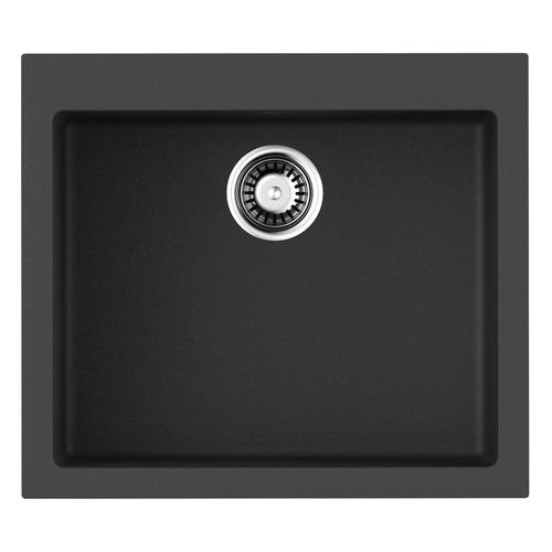 Кухонная мойка OMOIKIRI Bosen 57-BL, искусственный гранит, 57см х 50см, черный [4993145]