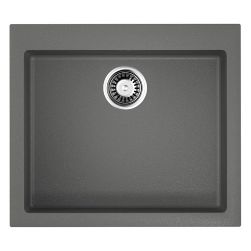 Кухонная мойка OMOIKIRI Bosen 57-PL, искусственный гранит, 57см х 50см, платина [4993221]