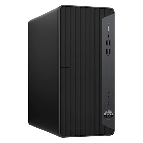 Компьютер HP ProDesk 400 G7, Intel Core i3 10100, DDR4 8ГБ, 256ГБ(SSD), Intel UHD Graphics 630, DVD-RW, CR, Windows 10 Professional, черный [11m77ea]
