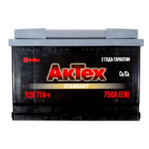 Аккумулятор автомобильный АКТЕХ ATST 77-3-L 77Ач 750A