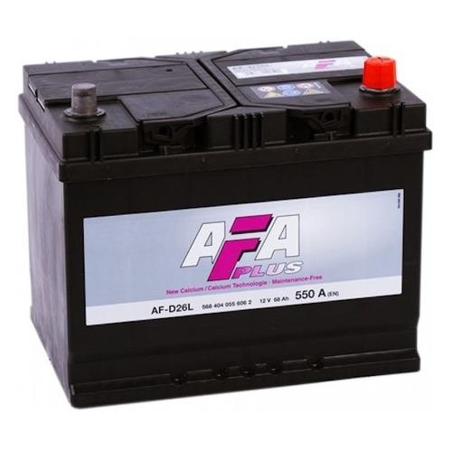Аккумулятор автомобильный AFA AF-D26L 68Ач 550A