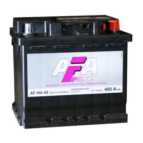 Аккумулятор автомобильный AFA AF-H4R 45Ач 400A