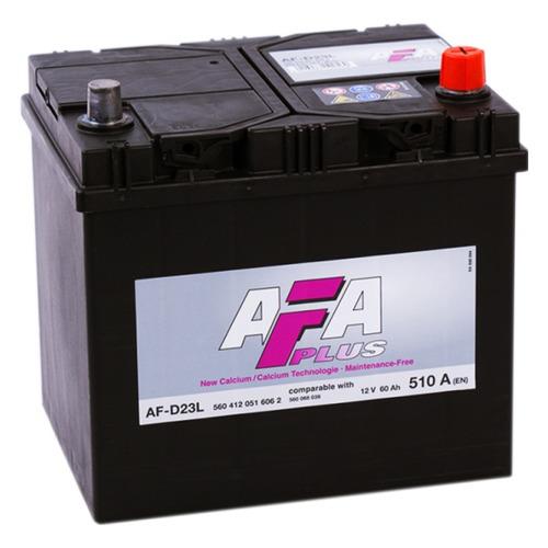 Аккумулятор автомобильный AFA AF-D23L 60Ач 510A