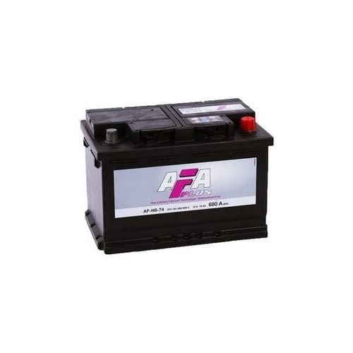 Аккумулятор автомобильный AFA AF-H6-74 74Ач 680A