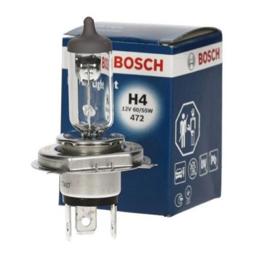 Лампа автомобильная галогенная Bosch 1987301001, H4, 12В, 60Вт, 1шт