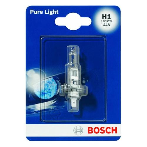 Лампа автомобильная галогенная Bosch 1987301005, H1, 12В, 55Вт, 1шт