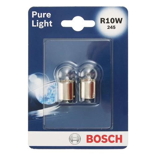 Лампа автомобильная галогенная Bosch 1987301019, R10W, 12В, 2шт