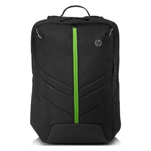 Рюкзак 17.3 HP Pavilion Gaming 500, черный/зеленый [6eu58aa] игровая клавиатура hp pavilion gaming 500 3vn40aa black usb