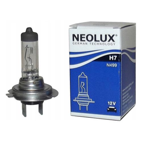 Лампа автомобильная галогенная NEOLUX N499, H7, 12В, 55Вт, 3200К, 1шт