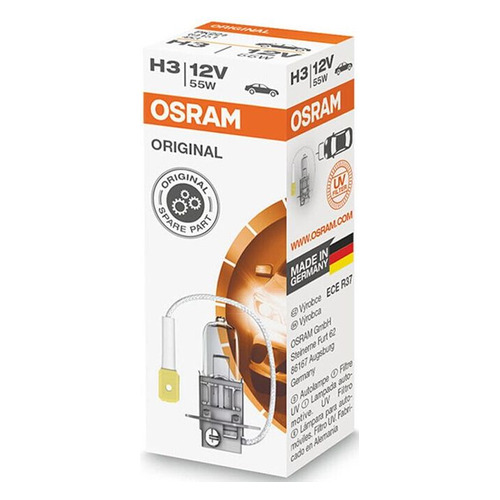 Лампа автомобильная галогенная Osram 64151, H3, 12В, 55Вт, 1шт