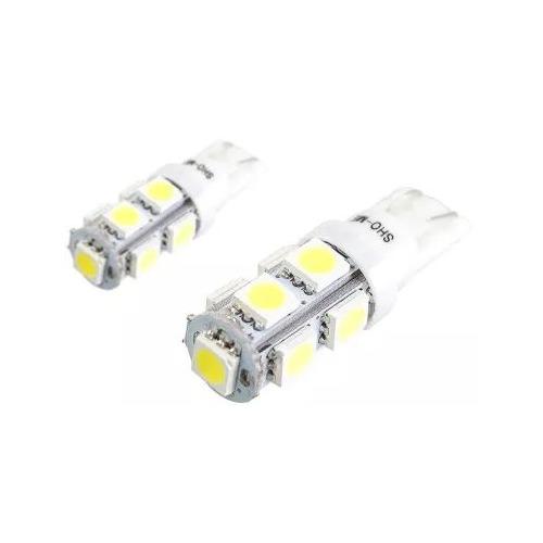 Лампа автомобильная светодиодная Sho-Me ALPHA-09, T10, 12В, 2шт