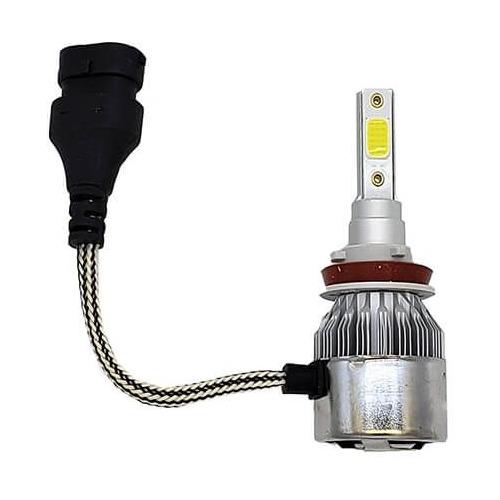 Лампа автомобильная светодиодная Sho-Me G6 Lite LH-H11, H11, 12В, 36Вт, 5000К, 2шт