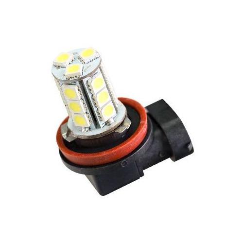 Лампа автомобильная светодиодная Sho-Me H11-18SMD, H11, 12В, 2шт