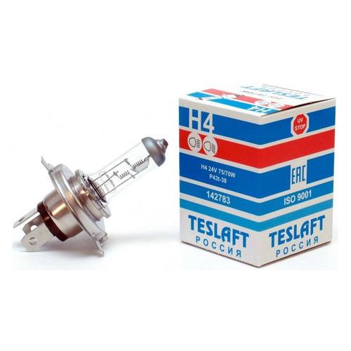 Лампа автомобильная галогенная TESLAFT 142783, H4, 24В, 1шт