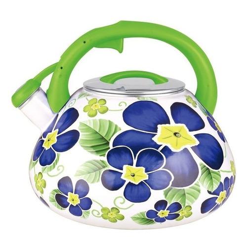 Металлический чайник ЧУДЕСНИЦА ЭЧ-3504, 3.5л, белый [ка-00001103] чайник мастерица эч 1 0 0 8 220 белый