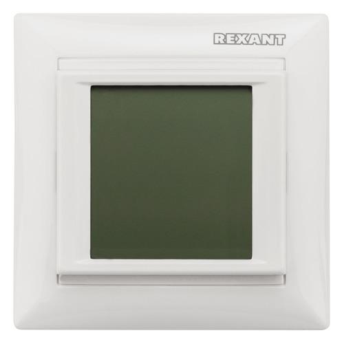 Терморегулятор Rexant RX-419B белый (51-0584)