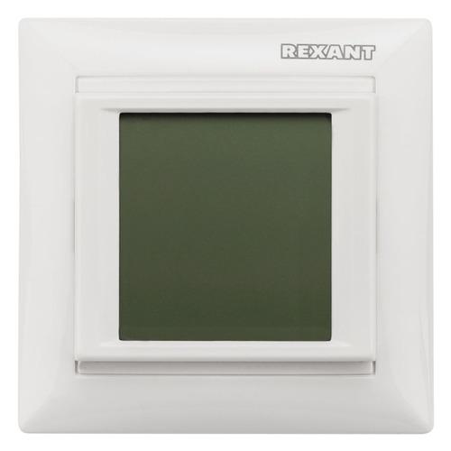 Терморегулятор Rexant RX-421H белый (51-0586)