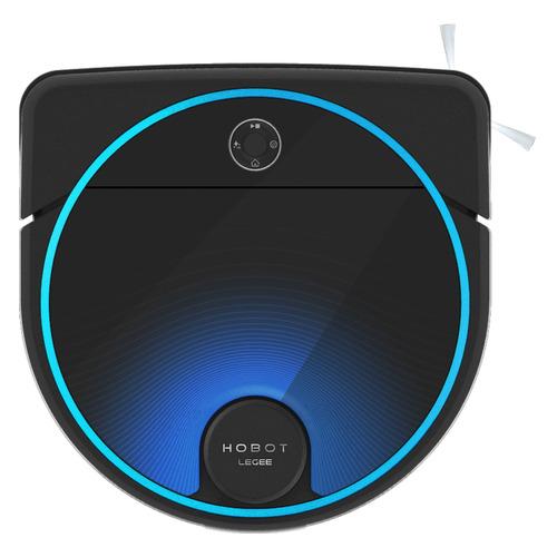 Фото - Робот-пылесос HOBOT LEGEE-7, черный/синий робот мойщик полов hobot legee 688