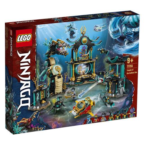 Конструктор LEGO Ninjago Храм Бескрайнего моря, 71755 lego lego ninjago императорский храм безумия