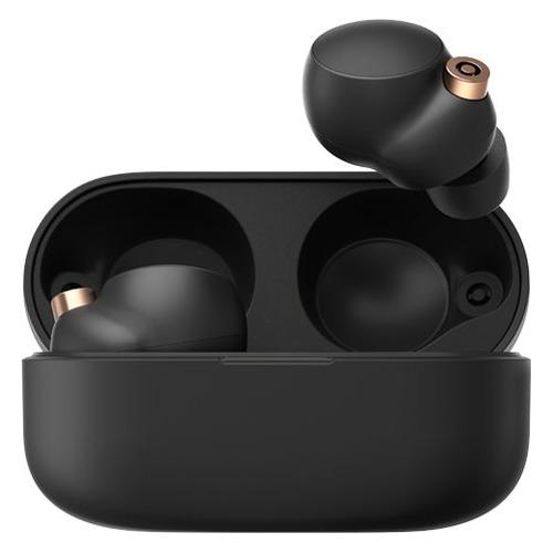 Фото - Гарнитура Sony WF-1000XM4 YY2948, Bluetooth, вкладыши, черный [wf1000xm4b.e] беспроводные наушники sony wf 1000xm4 черный