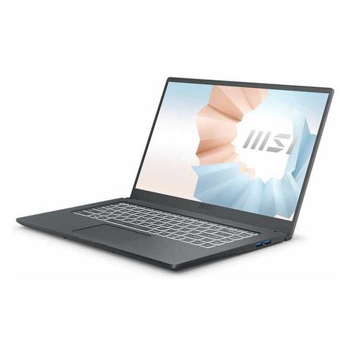 Фото - Ноутбук MSI Modern 15 A11SBL-462RU, 15.6, IPS, Intel Core i5 1135G7 2.4ГГц, 8ГБ, 512ГБ SSD, NVIDIA GeForce MX450 - 2048 Мб, Windows 10, 9S7-155226-462, серый ноутбук asus vivobook x515jp bq029t 15 6 ips intel core i5 1035g1 1 0ггц 8гб 512гб ssd nvidia geforce mx330 2048 мб windows 10 90nb0ss1 m02450 серый