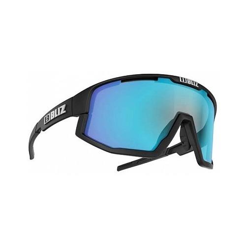 Очки спортивные Bliz Active Fusion 2021 черный матовый синий серый (52105-10) универсальные