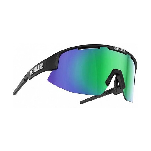 Очки спортивные Bliz Active Matrix 2021 черный матовый зеленый коричневый (52904-17) универсальные
