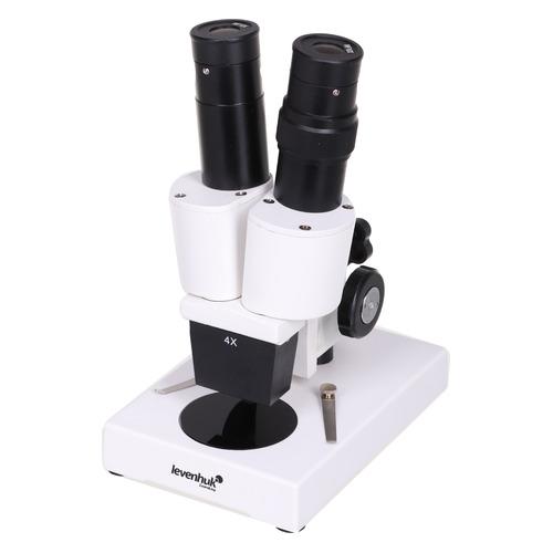 Микроскоп Levenhuk 2ST бинокуляр 40x белый/черный