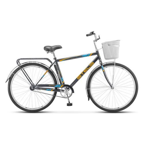 """Велосипед Stels Navigator-300 Gent (Z010) (2020-2021) городской рам.:20"""" кол.:28"""" серый 17.4кг (LU07"""