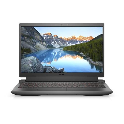"""Ноутбук DELL G15 5510, 15.6"""", Intel Core i5 10200H 2.4ГГц, 8ГБ, 512ГБ SSD, NVIDIA GeForce RTX 3050 для ноутбуков - 4096 Мб, Linux, G515-0533, темно-серый"""