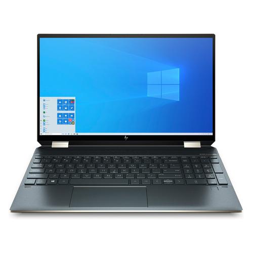 Ноутбук-трансформер HP Spectre x360 15-eb1006ur, 15.6, IPS, Intel Core i7 1165G7 2.8ГГц, 16ГБ, 1ТБ SSD, Intel Iris Xe graphics , Windows 10, 4L5S5EA, темно-синий ультрабук acer swift 3x sf314 510g 7734 14 ips intel core i7 1165g7 2 8ггц 16гб 1тб ssd intel iris xe max 4096 мб windows 10 nx a0yer 007 синий
