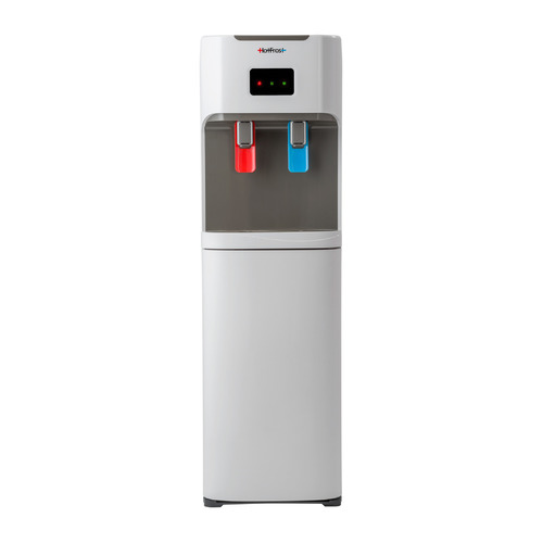 Пурифайер Hotfrost V115 PUF без фильтров напольный компрессорный белый/серый