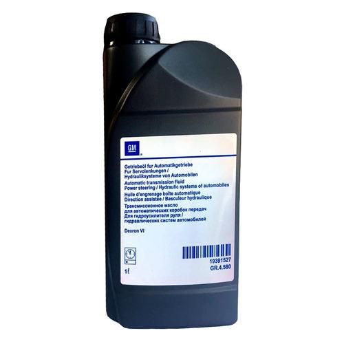 Масло трансмиссионное синтетическое GM ATF Dexron VI, 1л [19391527]
