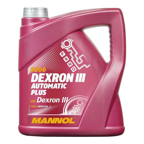 Масло трансмиссионное синтетическое MANNOL ATF Dexron III, 4л [1356]