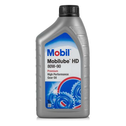 Масло трансмиссионное минеральное MOBIL Mobilube HD, 85W-140, 1л [152661]