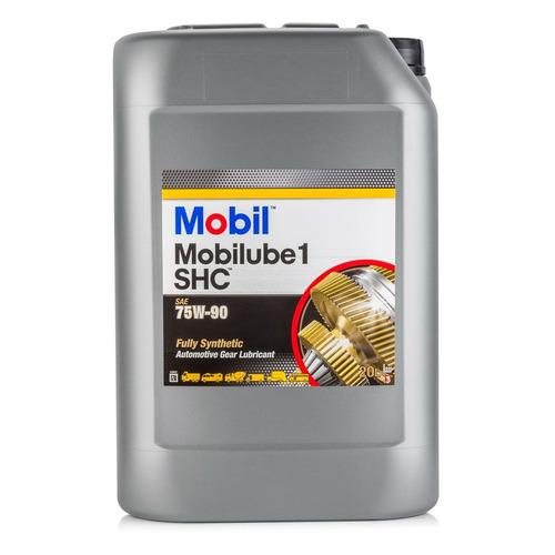 Масло трансмиссионное синтетическое MOBIL Mobilube 1 SHC, 75W-90, 20л [152738]