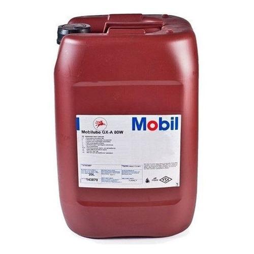 Масло трансмиссионное минеральное MOBIL Mobilube GX-A, 80W, 20л [152978]