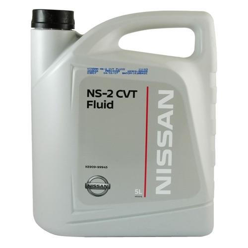 Масло трансмиссионное синтетическое NISSAN NS-2 CVT Fluid, 5л [ke909-99945r]