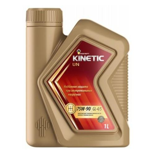Масло трансмиссионное синтетическое ROSNEFT Kinetic UN, 75W-90, 1л [40817232]