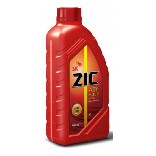 Масло трансмиссионное синтетическое ZIC ATF Multi HT, 1л [132664] zic трансмиссионное масло для автомобиля zic atf sp4 1л