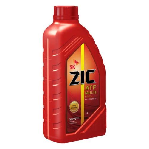 Масло трансмиссионное синтетическое ZIC ATF Multi LF, 1л [132665] zic трансмиссионное масло для автомобиля zic atf sp4 1л