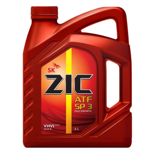 Фото - Масло трансмиссионное синтетическое ZIC ATF SP-3, 4л [162627] коробка передач масло zic atf dexron 6 1 л
