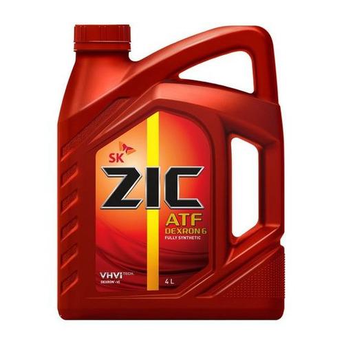 Фото - Масло трансмиссионное синтетическое ZIC ATF Dexron 6, 4л [162630] коробка передач масло zic atf dexron 6 1 л