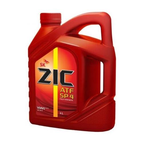 Фото - Масло трансмиссионное синтетическое ZIC ATF SP-4, 4л [162646] коробка передач масло zic atf dexron 6 1 л