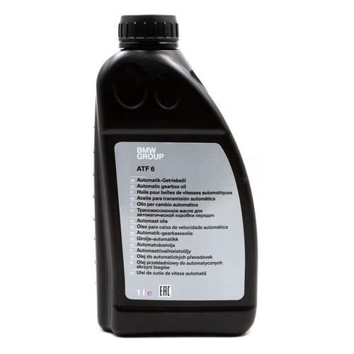 Масло трансмиссионное синтетическое BMW ATF 6, 1л [83 22 2 355 599]