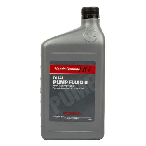 Масло трансмиссионное HONDA Dual Pump Fluid II, минеральное, 0.946л [08200-9007]