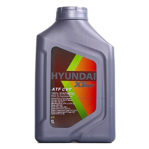 Масло трансмиссионное синтетическое HYUNDAI XTEER CVT, 1л [1011413]